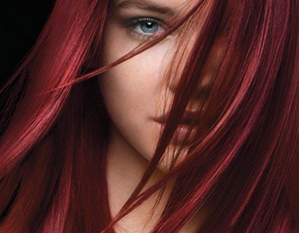 رنگ کردن مو به چه صورت است